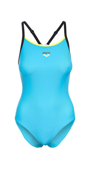 arena Variety One Piece Swimsuit Women turquoise/black/soft green